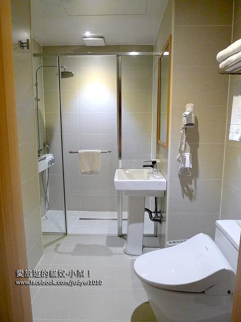 明洞住宿-新東方酒店淋浴設施