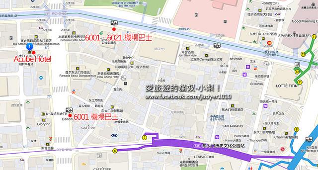 東大門歷史文化公園站地圖 -1