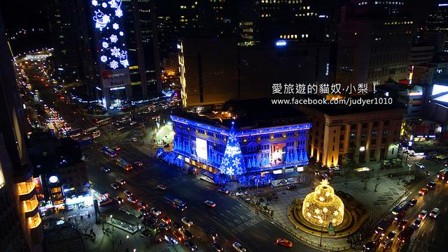 明洞住宿,首爾雅樂軒飯店-景觀