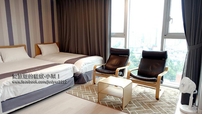 首爾住宿,東大門E7之家旅館E7 Place Dongdaemun房間介紹